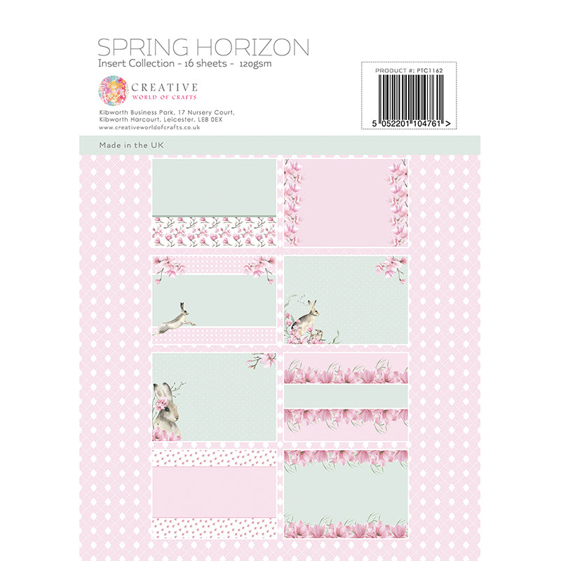 The Paper Tree - Spring Horizon - A4 Insert Collection - PTC1162