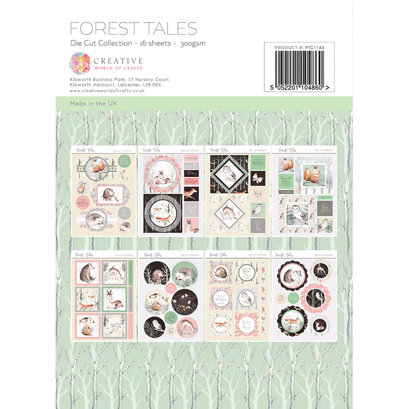 The Paper Tree - Forest Tales - A4 Die Cut Collection - PTC1165