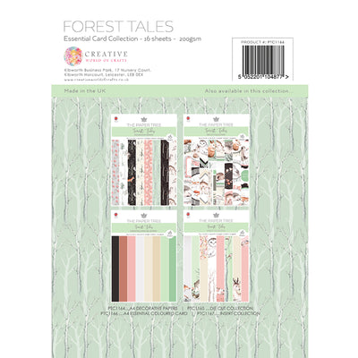The Paper Tree - Forest Tales - A4 Essential Coloured Card - PTC1166