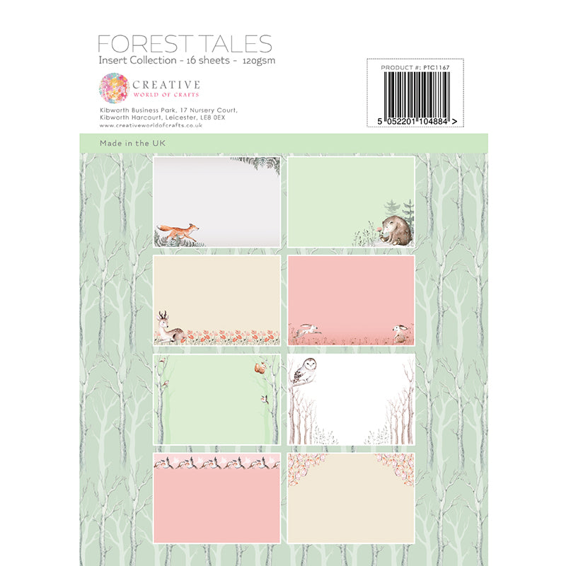 The Paper Tree - Forest Tales - A4 Insert Collection - PTC1167