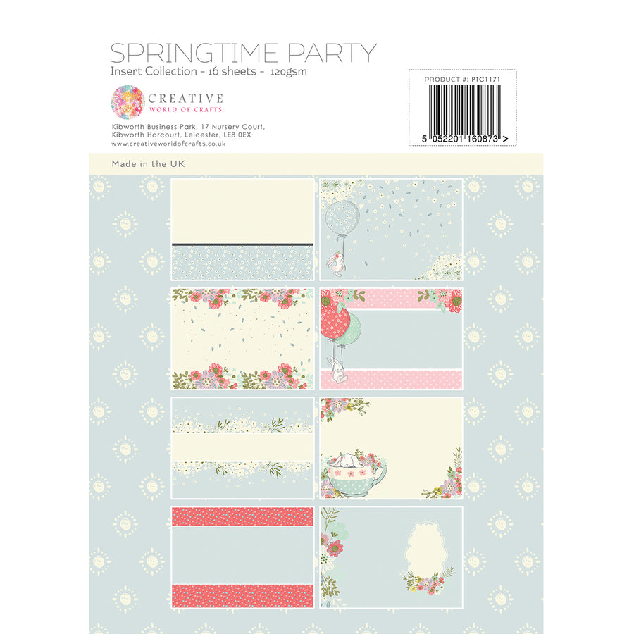 Paper Tree - Springtime Party - A4 Insert Collection - PTC1171