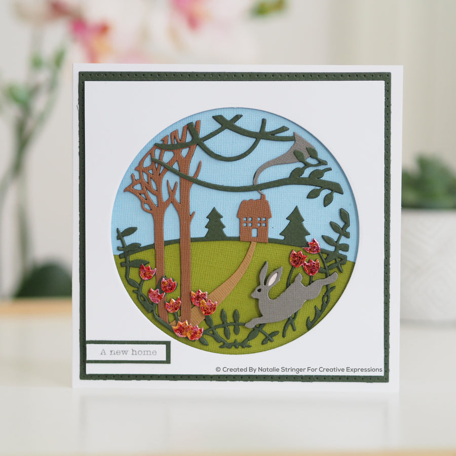 Paper Panda Dies by Creative Expressions - Country Cottage - CEDPP016