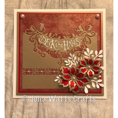 Paper Cuts Festive Edger Die - Deck the Halls - CEDPC1086