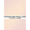Foundations Pearl Card by Creative Expressions - Rose Glow - A4