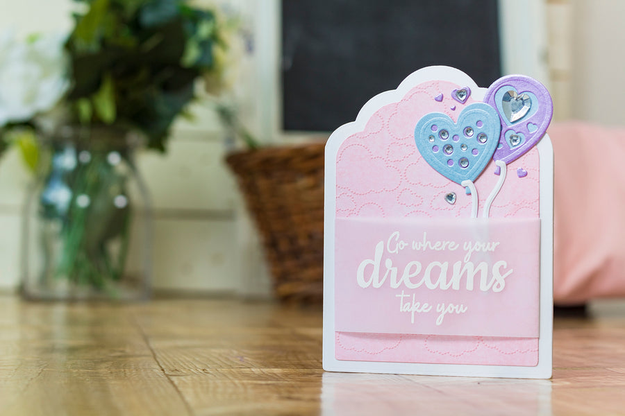 Crafters Companion - Clear Acrylic Stamp - Dreams