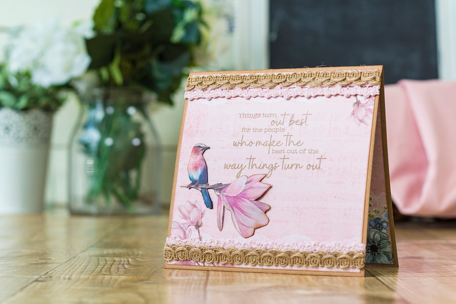 Crafters Companion - Clear Acrylic Stamp - Make The Best