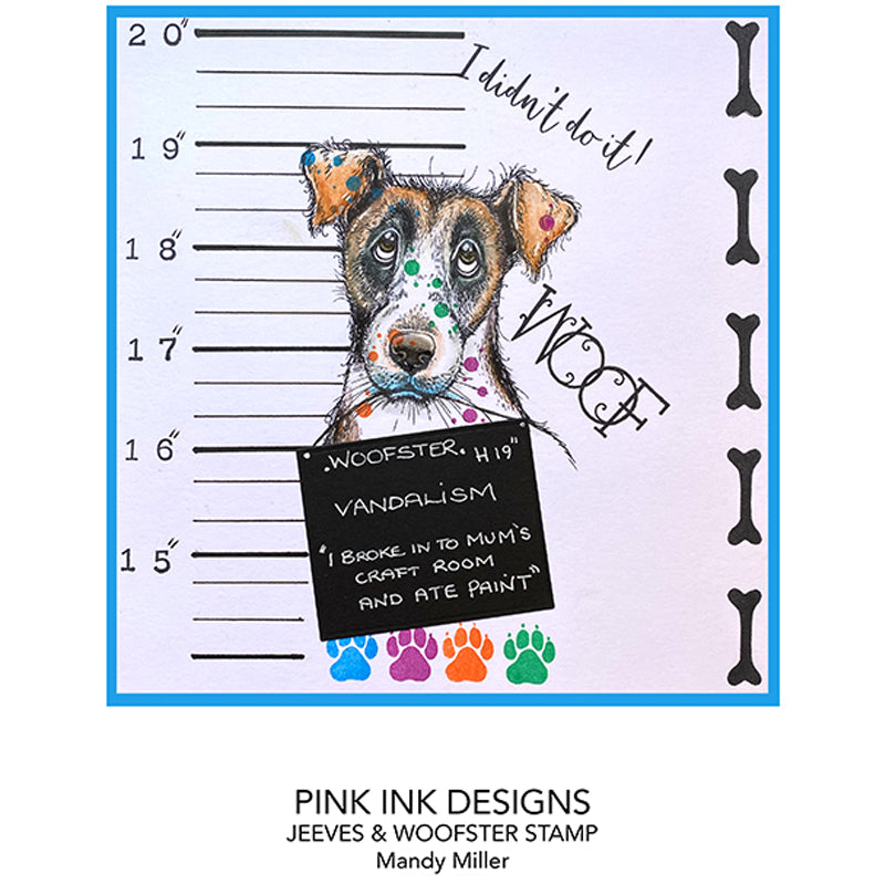 Pink Ink Designs Stamp - Jeeves & Woofster