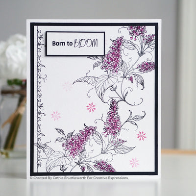 Pink Ink Designs Stamp - Luscious Lilac