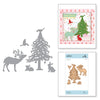 Spellbinders - Shapeabilities Starry Forrest  Dies - Sharyn Sowell Holiday 2019 Collection  - S4-1008