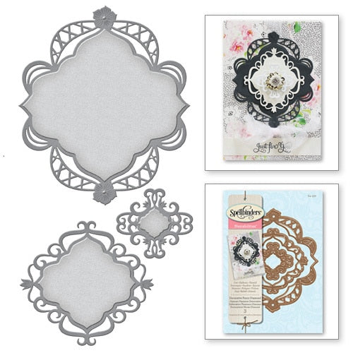 Spellbinders Nestabilities Decorative Elements: Fancy Diamond (S4-527)