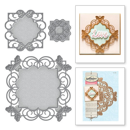 Spellbinders Nestabilities Die: Labels 49 Decorative Accents - S4-568