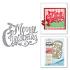 Spellbinders Shapeabilities Merry Christmas by Sharyn Sowell Etched Dies - S4-774