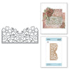 Spellbinders Dies - Blooming Garden - Marisa Job - Top Floral Panel - S4-915