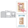 Spellbinders Layered Friends Forever Cafe Scene Die - S4-983