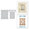 Spellbinders Die Callista Rectangle Shadowbox Frame - S5-389