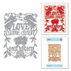 Spellbinders - Shapeabilities Love Came Down  Dies - Sharyn Sowell Holiday 2019 Collection  - S5-398