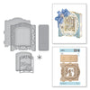 Spellbinders - Grand Holiday Cabinet  Dies  - 3D Holiday Vignettes Collection by Becca Feeken  - S6-157