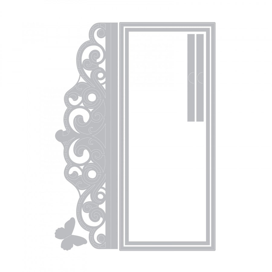 Sizzix Thinlits Dies: David Tutera - Invitation Wrapper - 661879