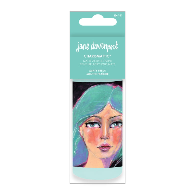 Artomology by Jane Davenport - Charismatic Acrylic Paint - Minty Fresh - JD-141