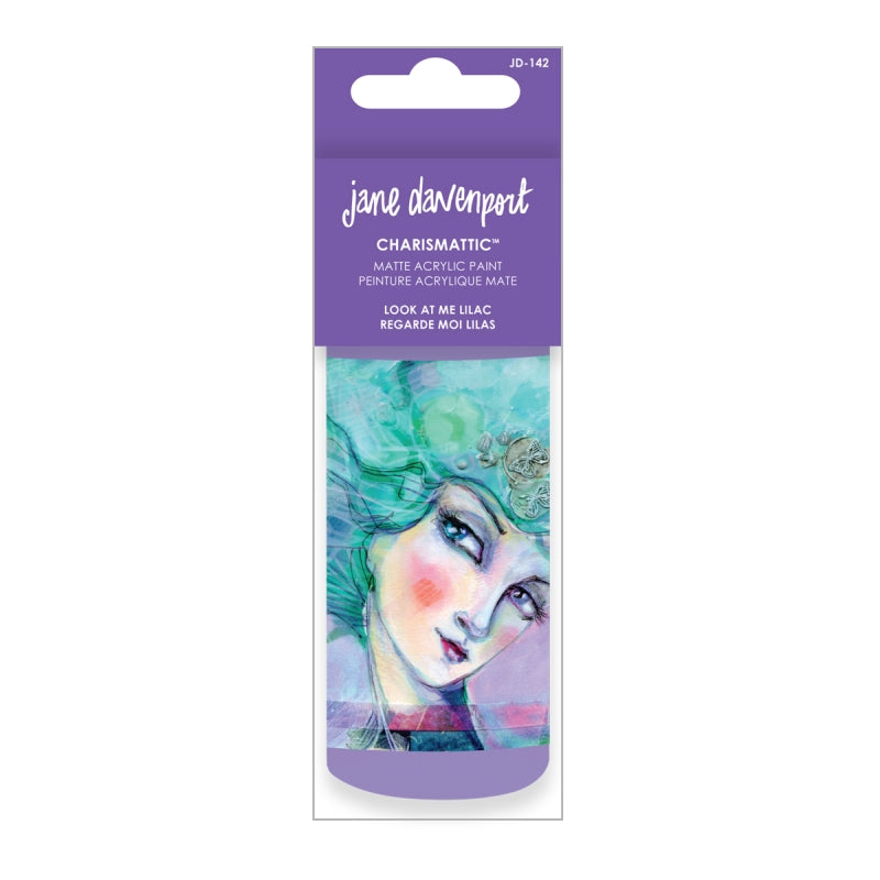 Artomology by Jane Davenport - Charismatic Acrylic Paint - Look at Me Lilac - JD-142