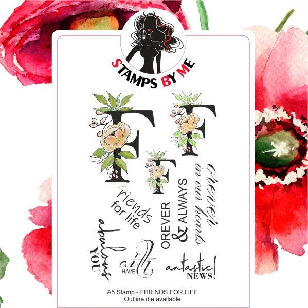 Stamps By Me - Friends for Life Stamp Set