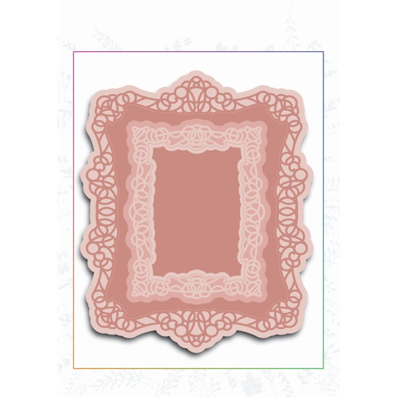 Sharon Callis Crafts Dies - Irish Lace Nesting Frame Set - SCCD025