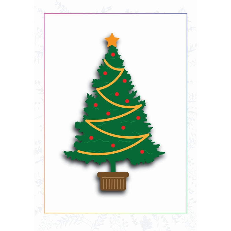 Sharon Callis Crafts Dies - Trim The Christmas Tree - SCCD029