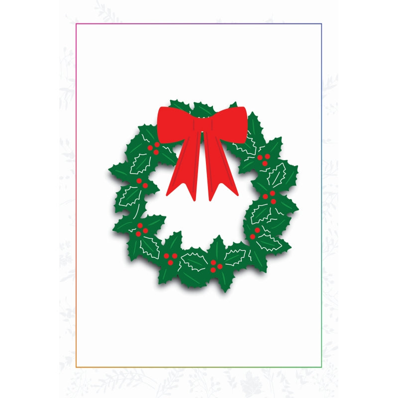 Sharon Callis Crafts Dies - Christmas Wreath - SCCD032
