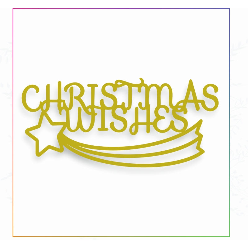 Sharon Callis Crafts Dies - Christmas Wishes - SCCD035