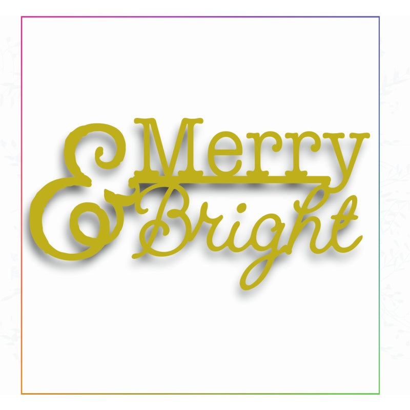 Sharon Callis Crafts Dies - Merry and Bright - SCCD036