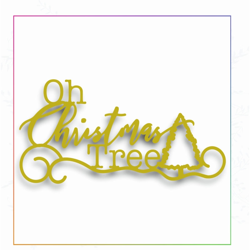 Sharon Callis Crafts Dies - Oh Christmas Tree - SCCD037