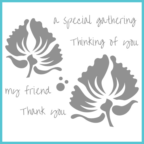 Spellbinders Celebration Stamps: My Friend (SCS-002)