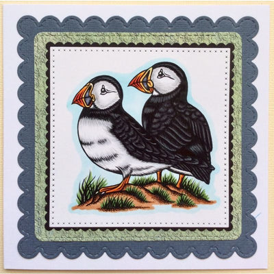Sweet Dixie Stamps - Puffins