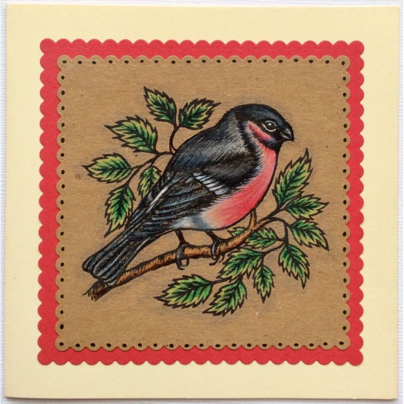 Sweet Dixie Stamps - Bullfinch and Wren