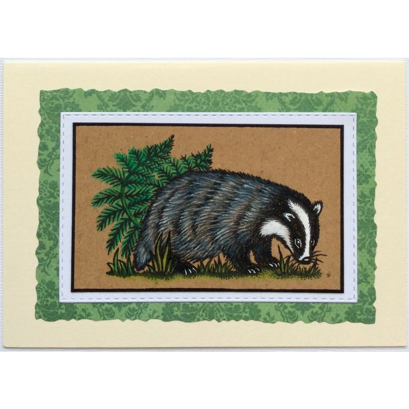 Sweet Dixie Stamps - Rabbit and Badger