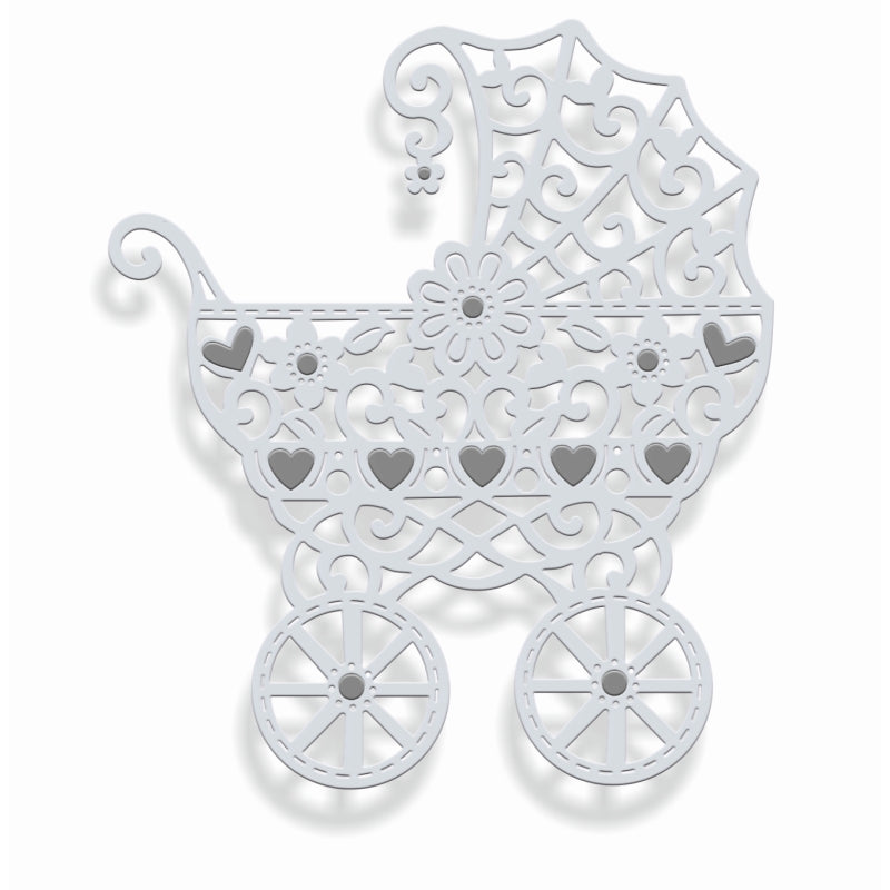 Sweet Dixie Dies - Filigree Pram - SDD353