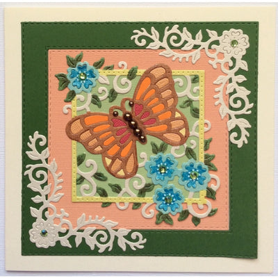Sweet Dixie Die - Butterfly Square - SDD375