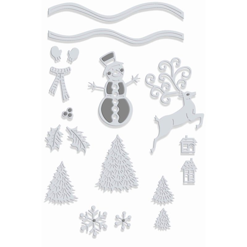 Sweet Dixie Dies - Snow Globe Accessories - SDD436
