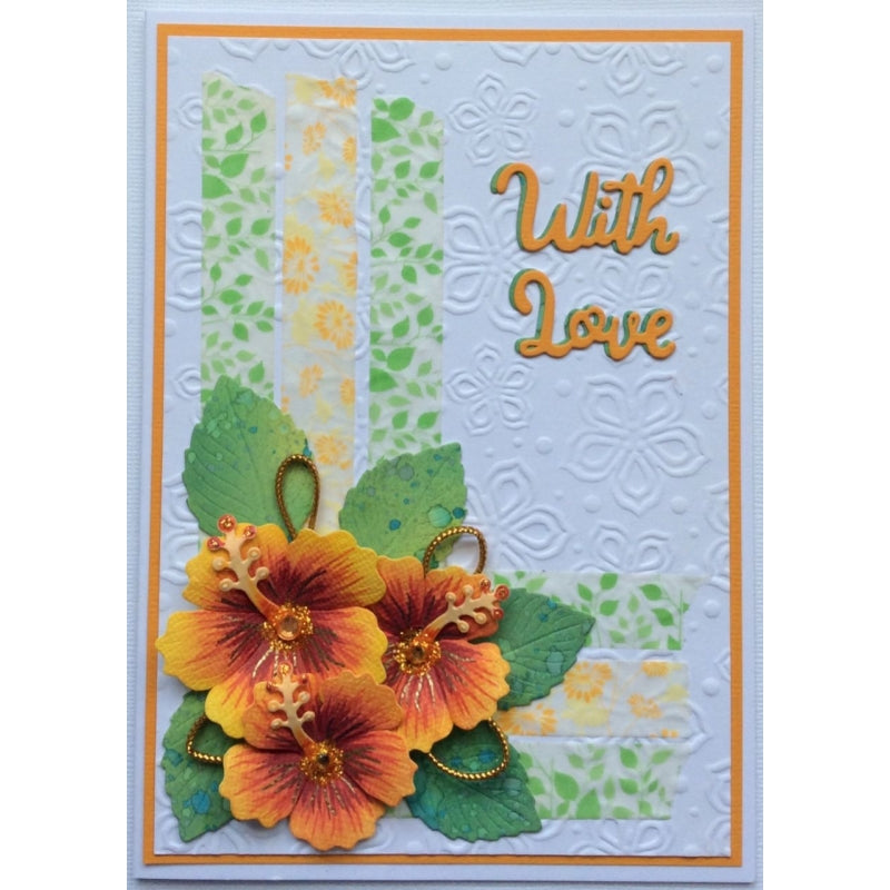 Sweet Dixie Dies - Sue Dix - Tropical Flowers -  SDD465