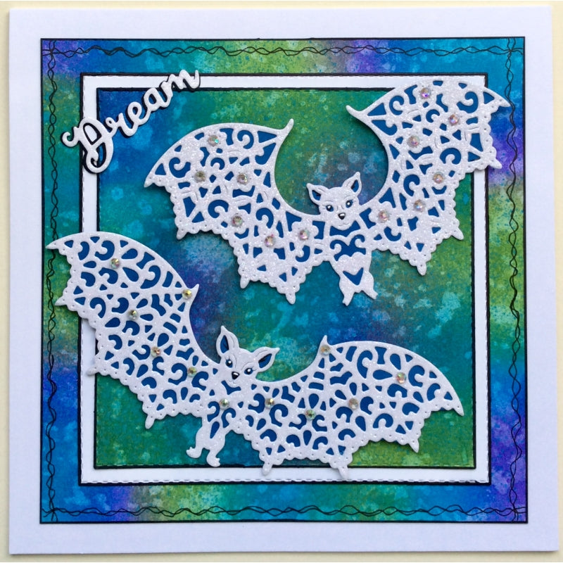 Sweet Dixie Dies - Fantasy by Sue Dix - Lacy Bats - SDD488