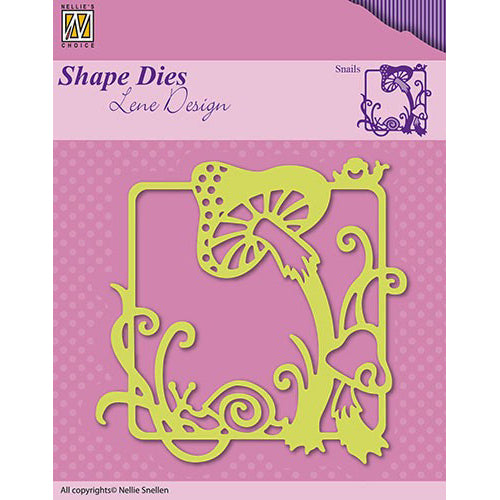Nellie Snellen Shape Dies Lene Design Summer - Snails - SDL019