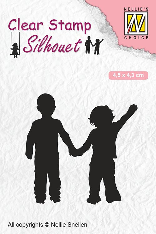 Nellie Snellen Clear Stamps Silhouette - Close Friends