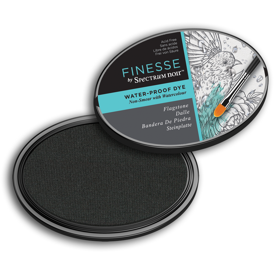 Spectrum Noir Ink Pad - Finesse Water Proof (Flagstone)