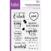 Crafters Companion - Clear Acrylic Stamps - Sweet Treat Accessories