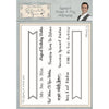 Phill Martin - Essential Banner & Flag Sentiments A5 Clear Stamp Set