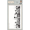 Phill Martin Stamps - Poppy Field Pre Cut Rubber Stamp