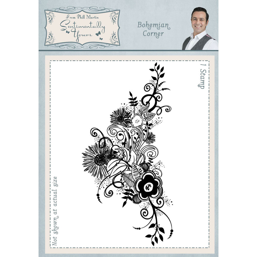 Phill Martin Stamps - Bohemian Corner A6 - SYR044