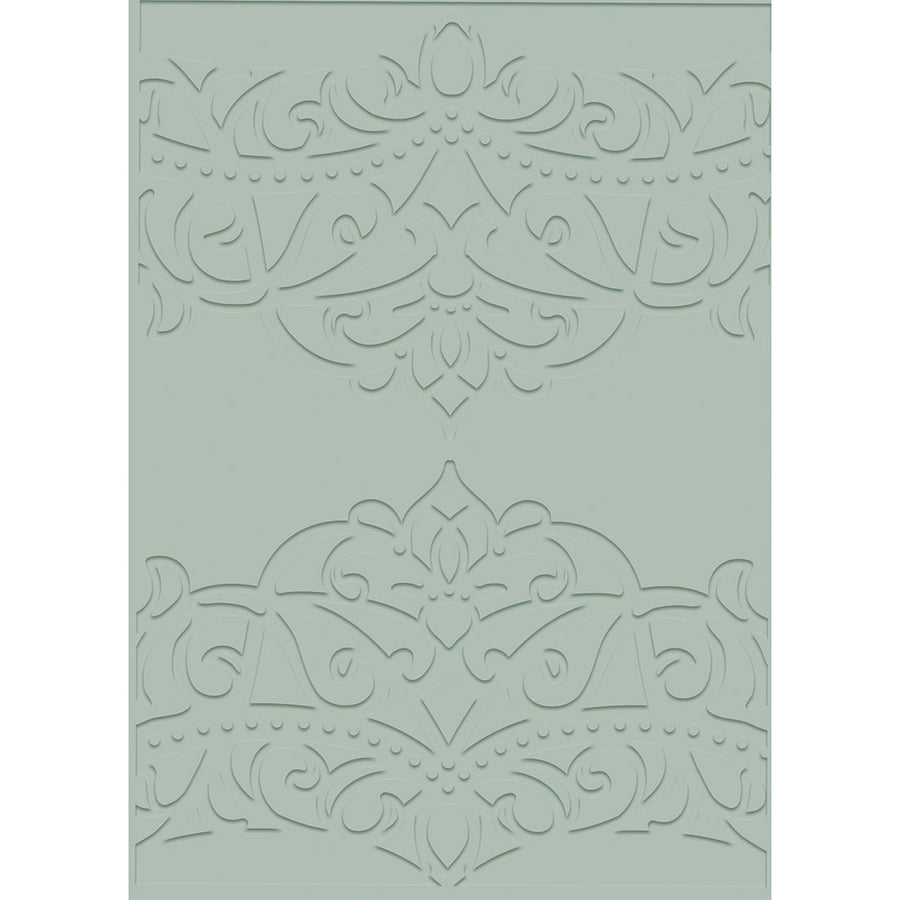 Sara Signature Collection - Rose Garden - 5x7 Embossing Folder - Grande Lace