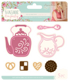 Sara Signature Collection Vintage Tea Party - Metal Die - Tea & Biscuits