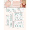 Sara Signature Collection - Sew Lovely - Clear Acrylic Stamp - Cross Stitch Sentiments